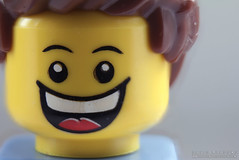 Happy (DMeadows) Tags: smile face smiling toy happy person model cheery lego plastic grin grinning minifig cheerful smily pleased minifigure davidmeadows giveusyourbestshot dmeadows davidameadows 522014week51