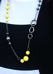 Sunset Sightings Yellow Necklace K1 P2910-4
