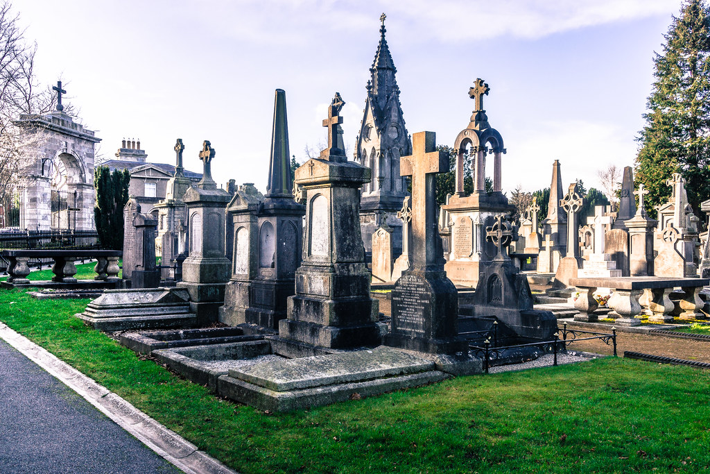 Glasnevin Cemetery, officially known as Prospect Cemetery REF-101119