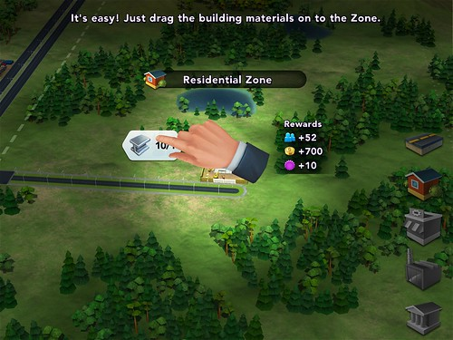 SimCity BuildIt Building: screenshots, UI