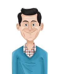 Phil Dunphy Yo! (James Loram) Tags: portrait art illustration digital phil dunphy modernfamily phildunphy jamesloram