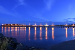 coffs harbour jetty (J.R.P) Tags: reflections dusk nsw coffsharbour