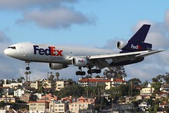FedEx (So Cal Metro) Tags: plane airplane airport san sandiego aircraft aviation jet cargo airline fedex courier freight airliner freighter dc10 mcdonnelldouglas trijet lindberghfield md10 n313fe