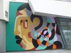 """Expo """"Mirage"""" de James Reka (avril 2016) (Archi & Philou) Tags: portrait streetart face galerie exhibition exposition mirage visage paris13 reka mathgoth"""