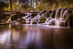 Virginia Waterfall, Ascot in UK (thomas.isabelle26) Tags: park uk longexposure travel england nature water landscape spring peaceful waterfalls tranquil beautul