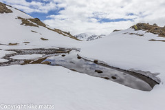 Basses de les Salamandres,Andorra (kike.matas) Tags: nature canon agua nieve paisaje nubes andorra reflejos montaas pirineos andorre canillo valldincles principatdandorra  canonef1635f28liiusm kikematas canoneos6d bassesdelessalamandres lightroom4