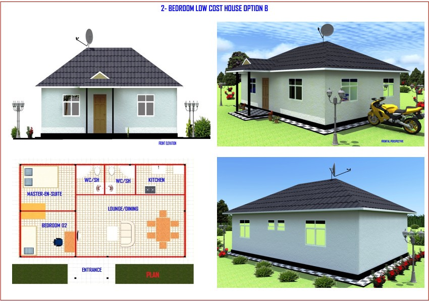 The world 39 s newest photos of kenya and truck flickr hive for Free house plans and designs with cost to build
