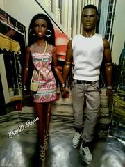 Darius and Bianca (krixxxmonroe) Tags: brown black sexy power d ooak handsome monroe reid ira staying royalty aa styling fahion darius eyan krixx