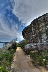 Barrenjoey Headland (ChristopherPaulYates) Tags: ocean beach trek rocks path walk sydney australia hike palm aus barrenjoey