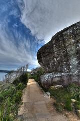 Barrenjoey Headland (ChristopherPaulYates) Tags: ocean beach trek rocks path walk sydney australia hike palm aus barrenjoey