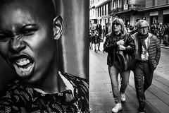 10-04-2016 (MarioMancuso) Tags: life street urban bw italy white black monochrome photography mono italian italia streetphotography documentary mario scene bn naples fujifilm reportage photogrphy mancuso