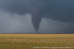 "Cone Tornado Ochiltree County Texas • <a style=""font-size:0.8em;"" href=""http://www.flickr.com/photos/65051383@N05/27006090963/"" target=""_blank"">View on Flickr</a>"