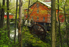 Spring @New Hope Mills (Matt Champlin) Tags: new old history mill nature water beautiful forest canon woodland landscape hope waterfall spring cny mills newhope fingerlakes springtime 2016 skaneateles bearswamp newhopemills