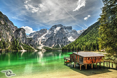 Lago di Braies - Pragser Wildsee (Danijel Jovanovic Photography) Tags: lake south tyrol italy landscape nature reflection mountains alps sony alpha 7rii carl zeiss lakeside beautiful alto adige val pusteria pustertal prags bergsee alpen