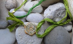 (katerina66) Tags: necklace polymerclay handmadejewellery silksari fauxceramic