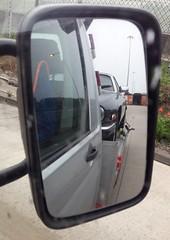 Now THAT's a rear view! (Pim Stouten) Tags: auto reflection car mirror spiegel restore vehicle jag restoration xjs jaguar rearview gt 53 kar mirroir coupé reflektion v12 restauratie reflectie wagen pkw véhicule zerkalo mácchina