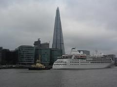 Tower of London (portemolitor) Tags: london thames river wharf shard riverthames toweroflondon the thewharf towerhamlets theshard