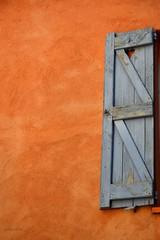 Fentre (CeriseBleuePhoto) Tags: orange bleu frjus couleur fenetre volet et