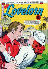 Lovelorn 46 (Michael Vance1) Tags: art artist anthology woman romance relationships love lovers man marriage dating comics comicbooks cartoonist silverage