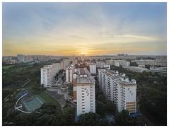 Center point (200616) (n._y_c) Tags: city sunset urban architecture singapore cityscape olympus hdb omd urbanscape oly angmokio omdseries omdem5mk2 mz714f28