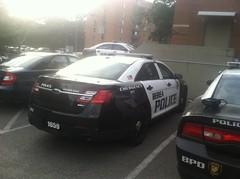 Berea Police Department - Ford Taurus Police Interceptor Sedan [REAR] (Sergiyj) Tags: ohio ford sedan police emergency taurus interceptor berea 2013