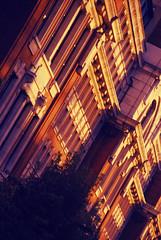DSC_6325 [ps] - Ivory Towers (Anyhoo) Tags: anyhoo photobyanyhoo holloway london england uk lowsun urban red brick manorgardens masonry stone facade faade ornamentation stonework corbel