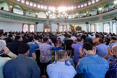 Fim do Ramada 06jul2016-140.jpg (plopesfoto) Tags: eid mohammed reza ramadan templo fitr sheik religio f orao fiel mesquita profeta isl alah muulmano sermo maom ramad jejum alcoro ilsamismo