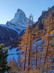 Last Light (endrunner) Tags: landscape mountain cervin sunset