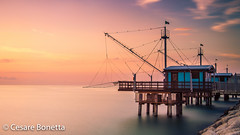 Fisherman House (CaeZar Photographer) Tags: sea italy seascape water long exposure filter nd marche fano maditerranean