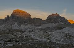 enrosadira (Paolo Dell'Angelo (journey to Italy)) Tags: enrosadira dolomitidisesto italia trentinoaltoadige veneto belluno bolzano