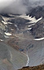 Chhota Shigri Glacier (_Amritash_) Tags: chhotashigriglacier kunzum kunzumpass lahaul spiti himalayas himachal himachalpradesh landscape glacier verticalpanorama darkice ice snow india indiantravel indianhimalayas chandravalley pirpanjalrange