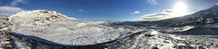Scotland as it is ! (TrevKerr) Tags: scotland snow panorama iphone