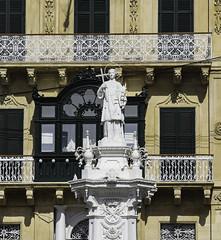 St Lawrence the Deacon (Lawrence OP) Tags: vittoriosa malta saint lawrence deacon gridiron statue