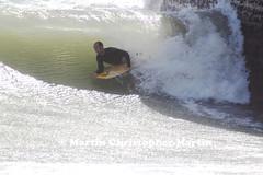 Body Boarder (martin christopher-martin) Tags: brighton sussex seaside coast beach summer holiday sea water surfer surf waves spray westsussex bodyboard sport extremesport nutcase breakwater