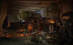 DSC_3249 (Foto-Runner) Tags: urbex lost decay abandonn vhicules car guerre carrire mine underground