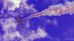Two Kinds of Clouds (   (Thank you, my friends, Adam!) Tags: airshow airplane stunt nikon dslr macro closeup fine art photography photographer excellent    adamzhang  telephoto      clouds