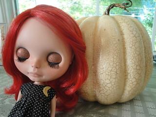Glittery pumpkin, glittery me