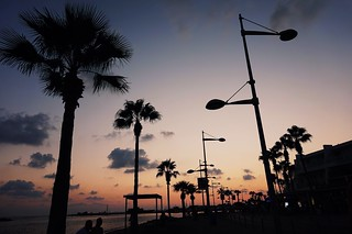 Sunset in Paphos ☀�