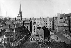 City Square (Dundee City Archives) Tags: old city house architecture demolish buildings square design scotland town hall photos dundee victorian royal bank demolition flats housing demolished tenements caird stclementslane tyndalswynd