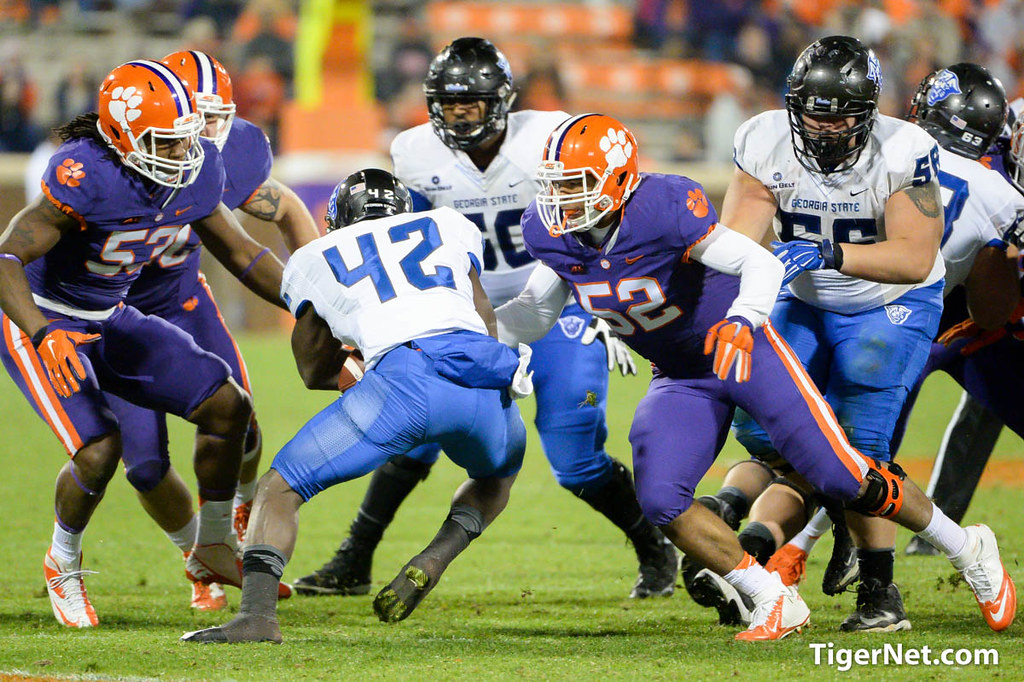 Clemson Photos: Football, georgiast, 2014, Kellen  Jones, georgiastate