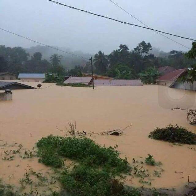 PRAY TO #MALAYSIA Location Flood in Gua Musang, Kelantan
