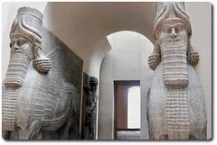 Winged Human-Headed Bull (oar_square) Tags: ancientcivilization lamassu assyrian assyrianart neoassyrian ancientneareast shedu louvremuseumparis wingedhumanheadedbull gatearchitectureatdursharrukin protectivegenie