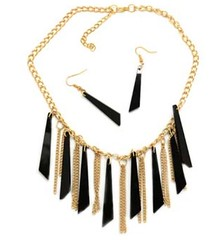 5th Avenue Gold Necklace P2011-5
