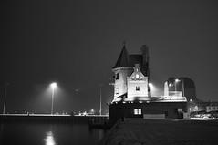 Stralsund (funk_explosion) Tags: november bw fog mare nebel harbour balticsea sw hafen ostsee stralsund mecklenburgvorpommern fujix100