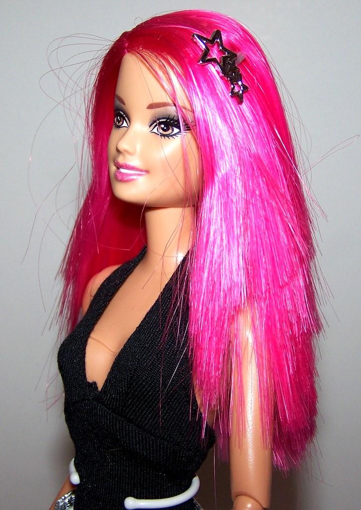 Barbie fashionistas swappin styles doll sassy 88