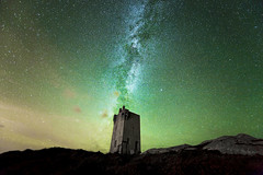 The 'Tower' and the Milky Way (Ronan.McLaughlin) Tags: ocean ireland marine atlantic astrophotography maritime communications donegal milkyway malinhead inishowen airglow nikond3 nikon1424mm