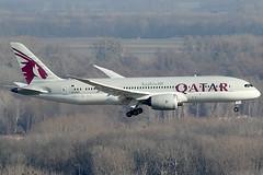 Qatar Airways Boeing 787-8 A7-BCB (c/n 38320) (Manfred Saitz) Tags: vienna airport boeing airways vie qatar 787 b787 schwechat loww dreamliner a7bcb