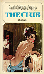 Beacon Books S75163 - Steve Yardley - The Club (swallace99) Tags: beacon scl softcoverlibrary vintage paperback 60s sleaze darcy ernestchiriacka chiriaka swapping suburbia callipygian flygirl