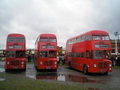 D9 Leicester Running Day 22/11/09 (gardnergav) Tags: leicester d9 midlandred 5342 5399 5424 runningday bmmo preservedbus 221109 6342ha bha399c eha424d