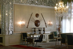 Museo Jahan Nama Palacio Sahebgharanieh Teheran Iran 02 (Rafael Gomez - http://micamara.es) Tags: museum iran persia palace museo tehran  nama teheran palacio jahan irn    sahebgharanieh tehern sahebqueraniyeh